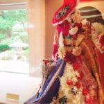 フランス大使館にフラワー装飾☆日仏交流160周年記念☆