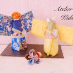 7歳の男の子も日本の和文化に夢中! 折り紙や和紙の魅力が120%伝わる「着物ドール」。
