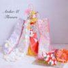 横浜市港北区代表として拡げていきます! 「お花と折り紙で拡げる着物ドールの輪」